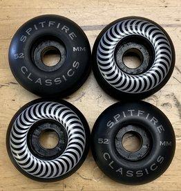 spitfire sf black 52mm classic wheels