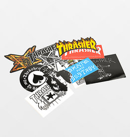 thrasher thrasher assorted sticker 10 pack