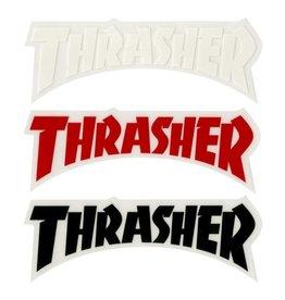 thrasher thrasher logo med 6inch sticker
