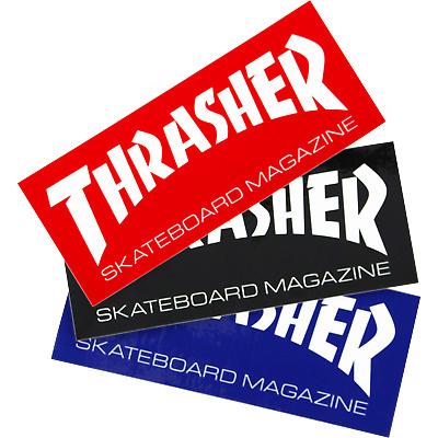 thrasher thrasher skate mag med 6inch sticker