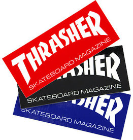 thrasher thrasher skate mag large 10inch sticker