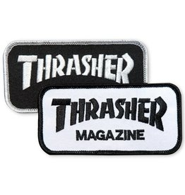 thrasher thrasher logo 4.5inch patch