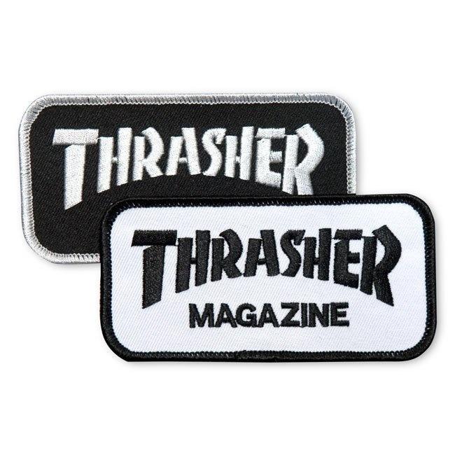 thrasher thrasher logo 4.5inch patch