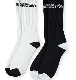 thrasher sk8 and destroy socks 2 pack