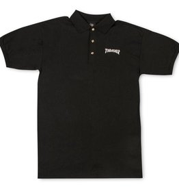 thrasher thrasher polo shirt