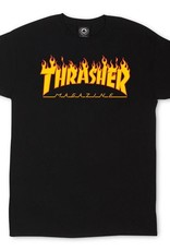 thrasher flame ss tee