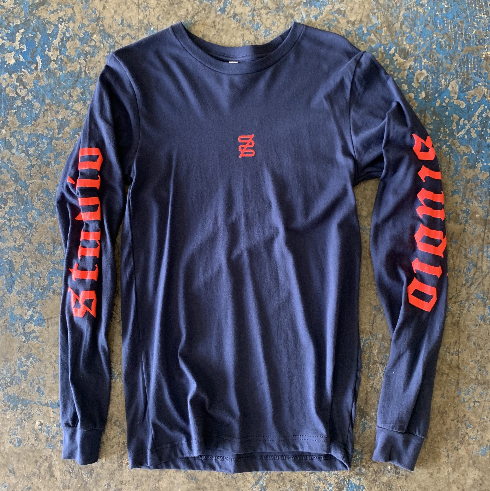 studio skate supply studio logo ls tee