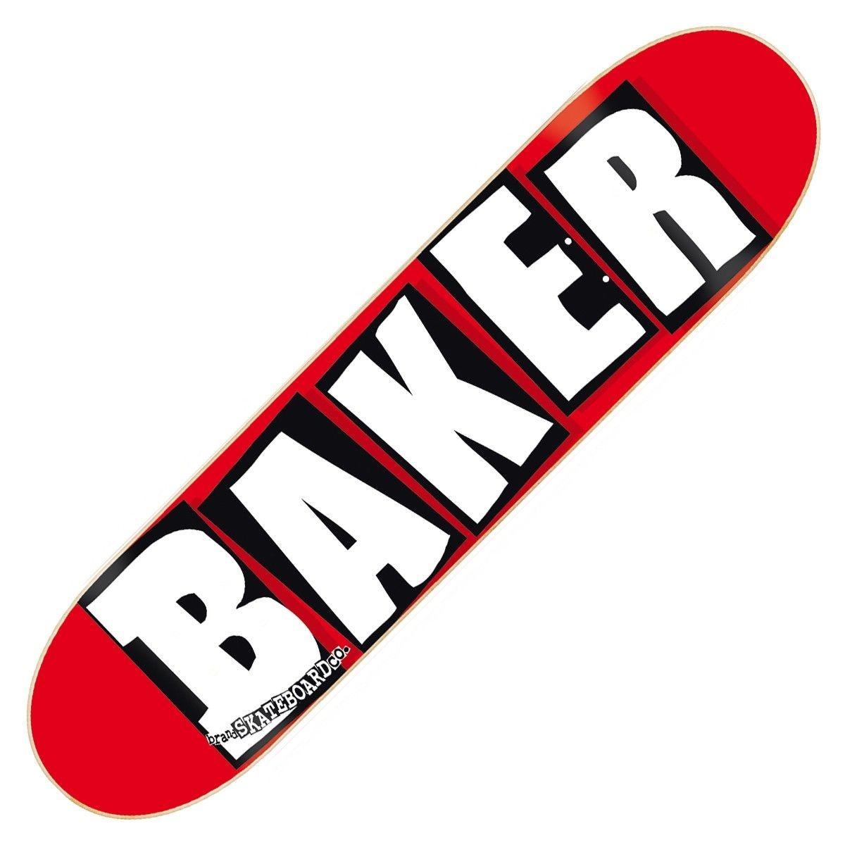 baker brand logo white 8.125 deck