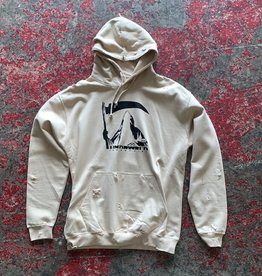 undrwrld industries reaper distressed spike hoodie