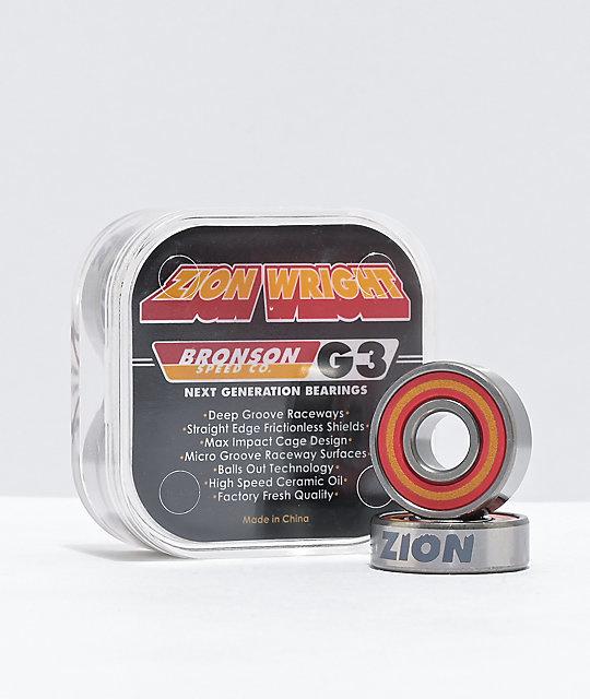 zion wright pro g3 bearings