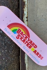 backyard skating rainbows 8.0 deck