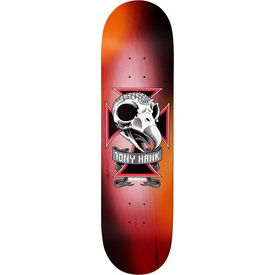 birdhouse th skull 2 multi 8.25 deck