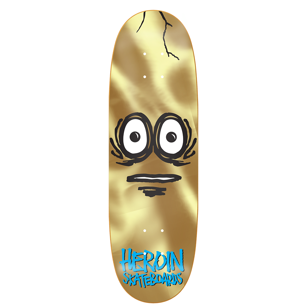 heroin very big gold egg 10.0 deck