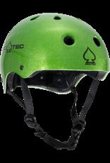 pro tec pro tec classic skate candy green flake helmet