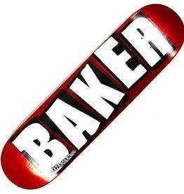 baker brand logo red foil 8.25 deck