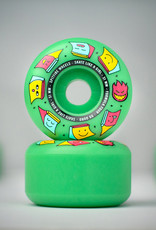 spitfire f4 99 skate like a girl ice mint radials 51mm wheels