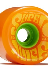 oj wheels 60mm super juice citrus 78a wheels