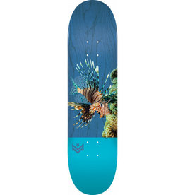 mini logo mini logo poison lion fish 8.0 deck