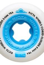 ricta 54mm cored clouds blue 78a wheels