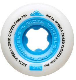 ricta 54mm cored clouds blue 78a wheels
