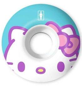 girl girl 51mm 99a hello kitty sanrio stp 60th wheels