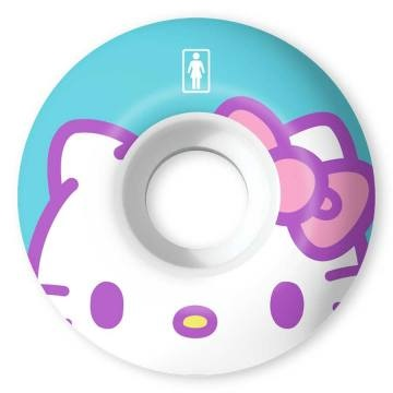 girl girl 51mm 99a hello kitty sanrio stp 60th wheels