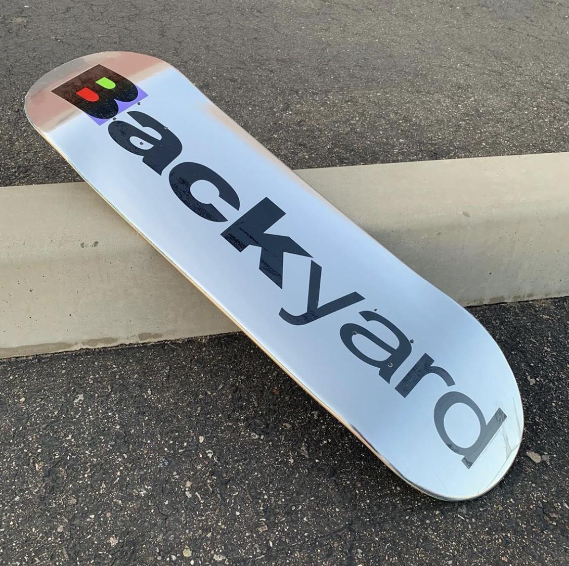 backyard morph chrome foil 8.38 deck
