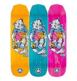 welcome skateboards nora vasconcellos teddy on wicked princess 8.125 deck