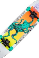 welcome skateboards bactocat white 8.0 complete