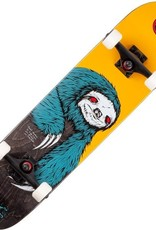 welcome skateboards sloth gold black 7.75 complete