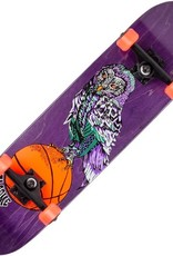 welcome skateboards hooter shooter purple 8.0 complete
