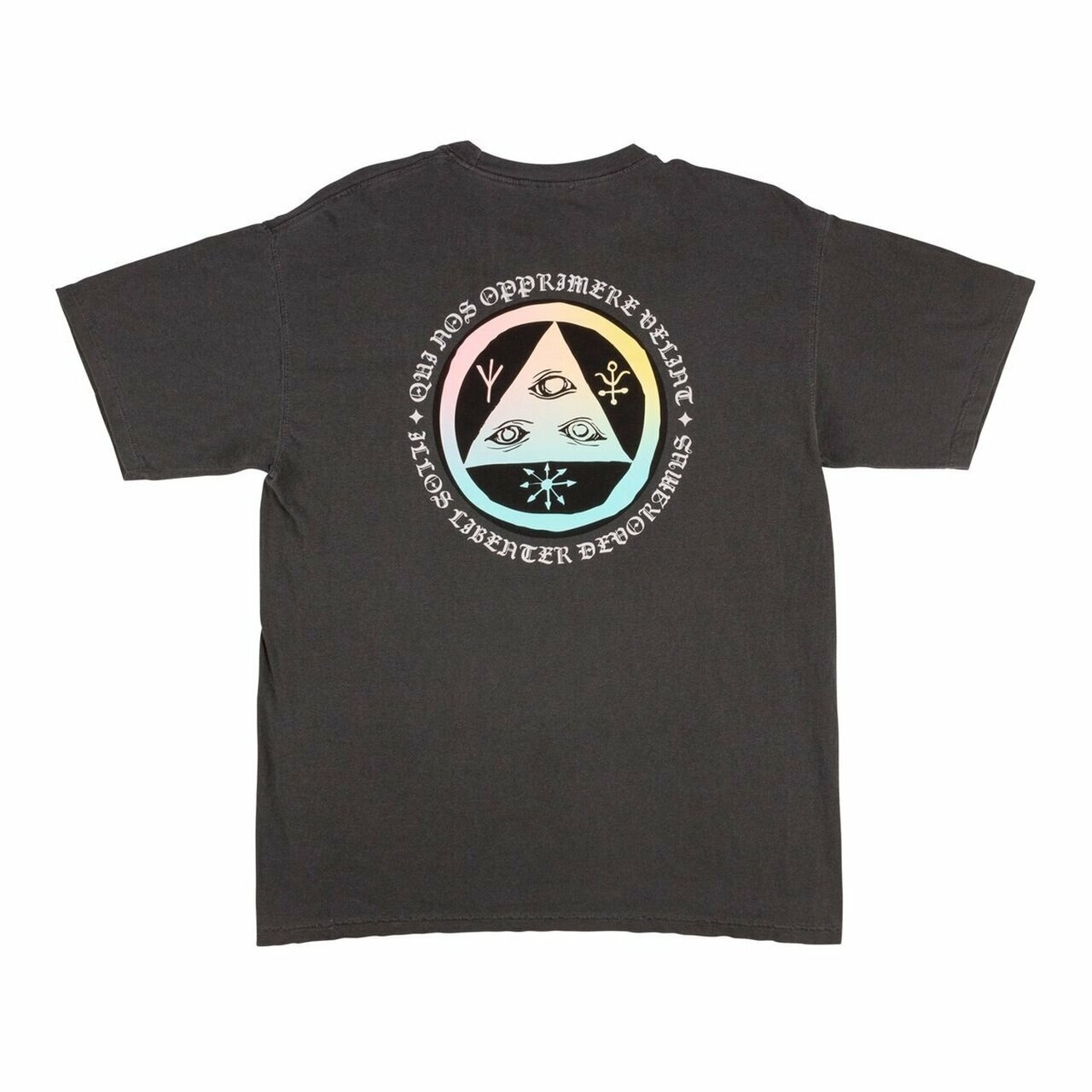 welcome skateboards welcome latin tali 2 garmet dyed tee