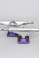 independent 159 hollow silver ano purple standard truck