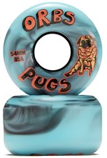 orbs orbs pugs 85a 54mm black blue wheels