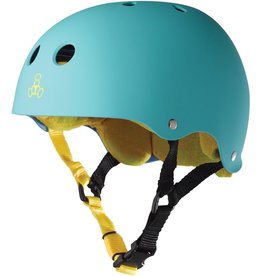 triple 8 triple 8 helmet brainsaver baja teal rubber