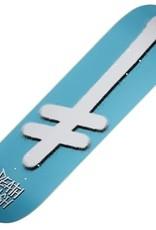 deathwish team gang logo ice blue 8.25 deck