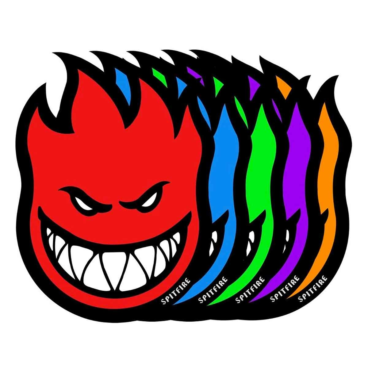 spitfire sf fireball 3in sticker