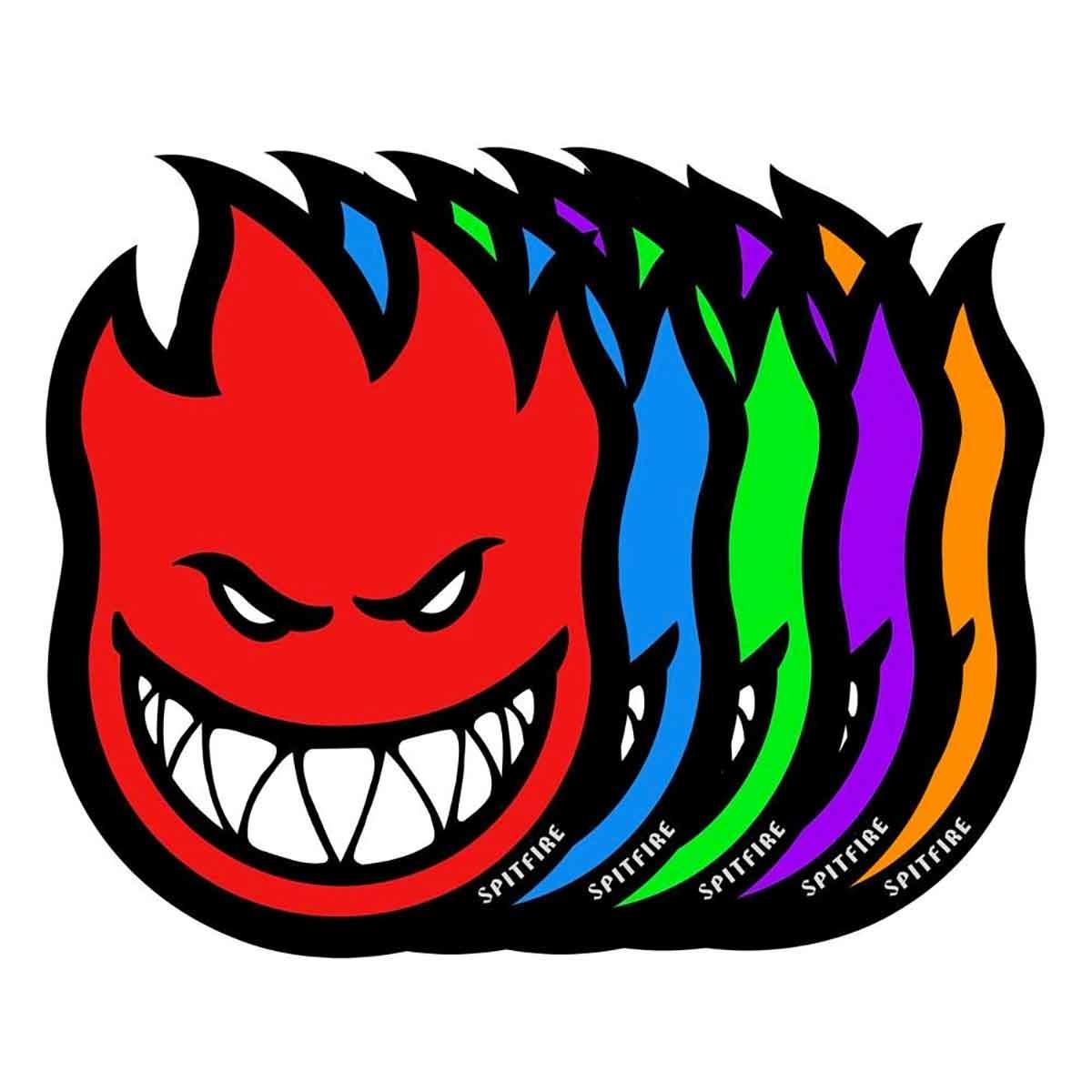 spitfire sf fireball 25in sticker