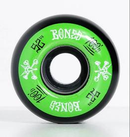 bones bones 100s v4 52mm black wheels
