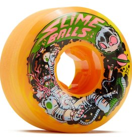 slime balls 56mm astros speed balls orange yellow swirl 99a wheels