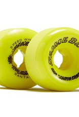 slime balls 60mm scudwads vomits neon yellow 95a wheels