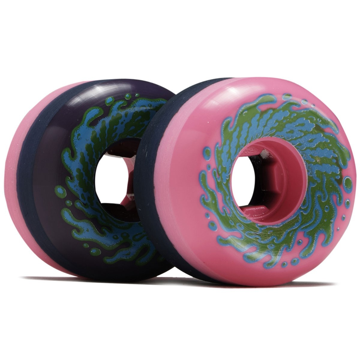 slime balls 56mm double take vomit mini pink black 97a wheels
