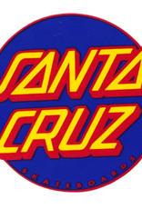 santa cruz other dot 3in x 3in navy red sticker
