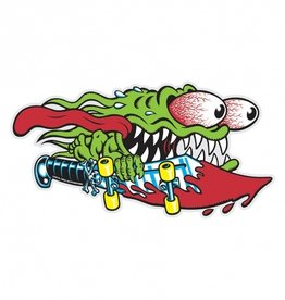 santa cruz slasher 6.25in x 3.25in sticker