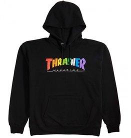 thrasher thrasher rainbow hoodie