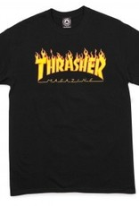 thrasher youth flame logo tee
