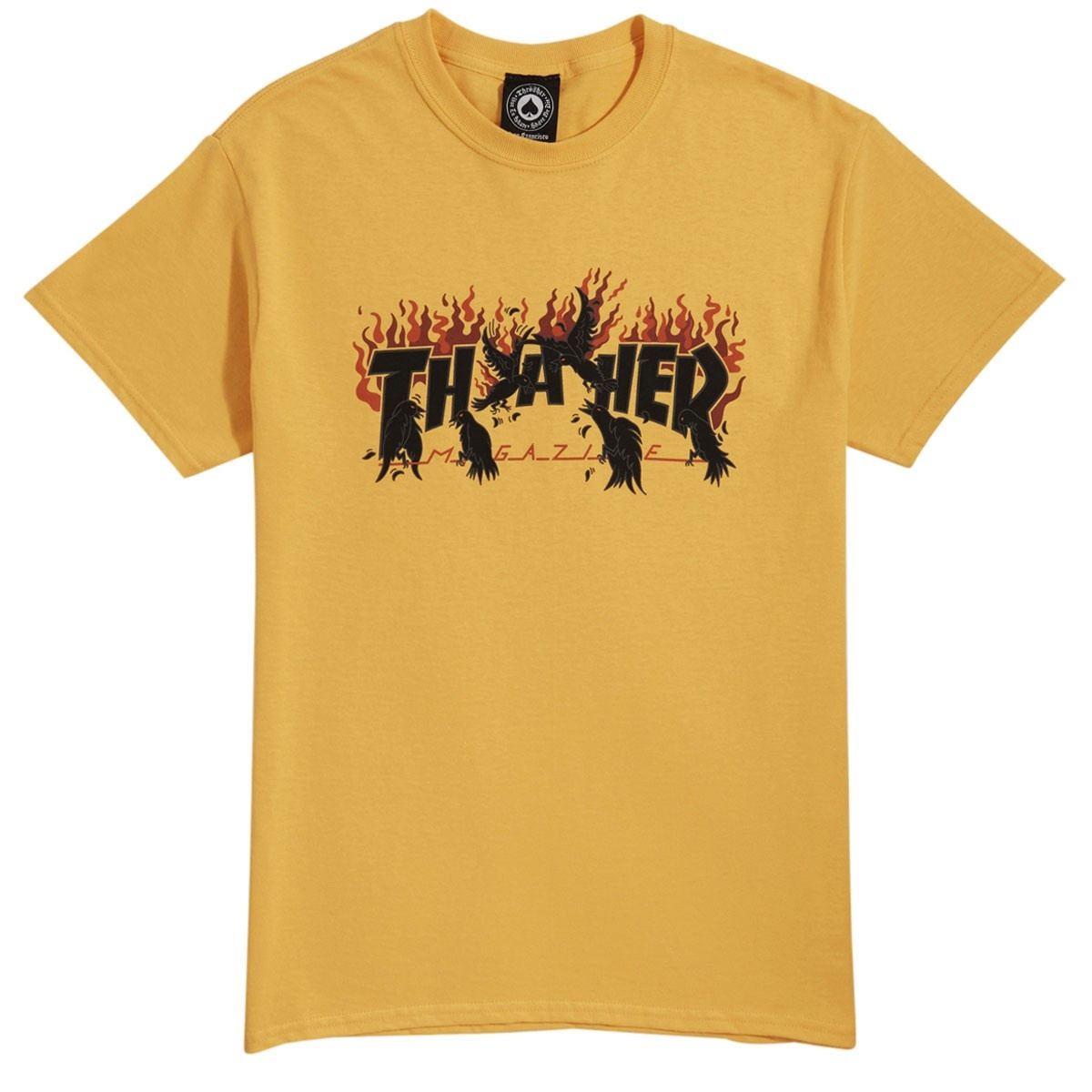 thrasher crows tee