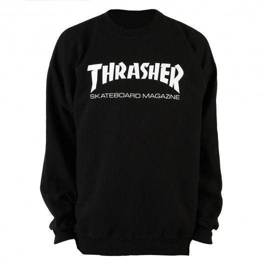 thrasher thrasher skate mag crewneck sweatshirt