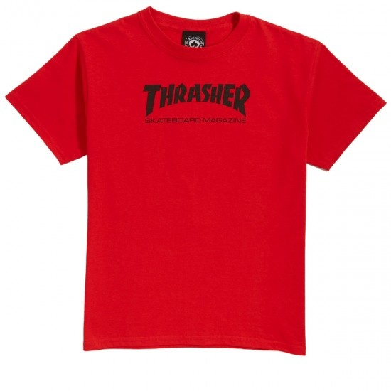 thrasher youth sk8 mag tee