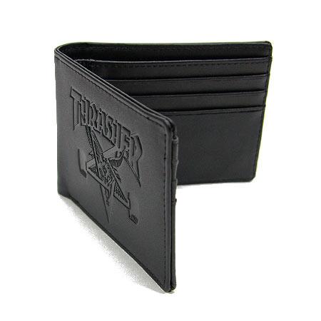 thrasher sk8 goat leather wallet